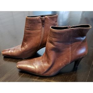Etienne Aigner Filly Ankle Boots - Size 7M
